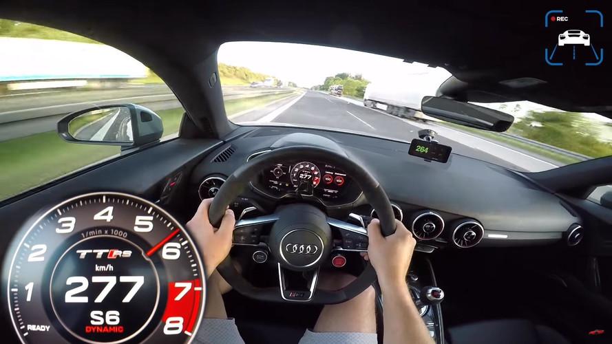 Így gyorsul az MTM műhelyéből kigördült 465 lóerős Audi TT RS