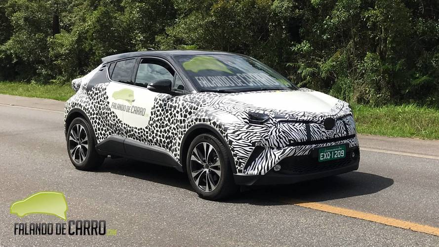 Flagra: Vem ou não? Novo SUV Toyota C-HR segue em testes no Brasil