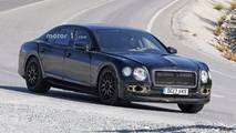 New Bentley Flying Spur spy photo