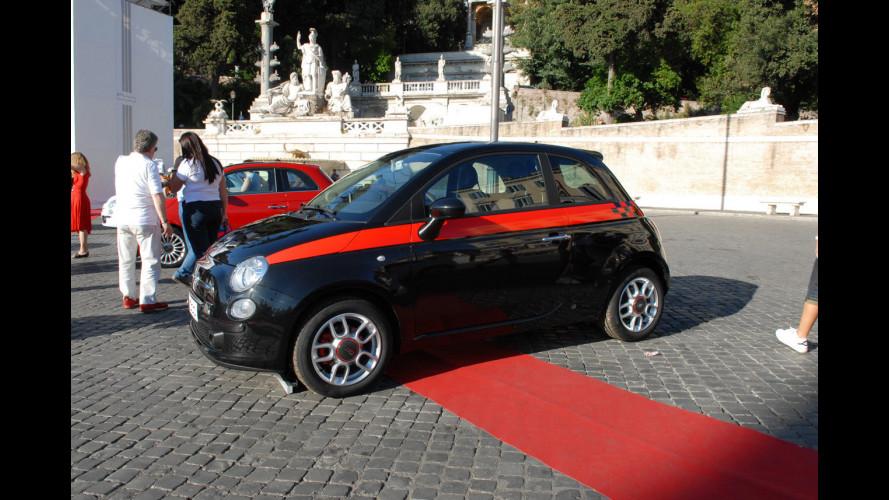 Un debutto col botto per la Fiat 500