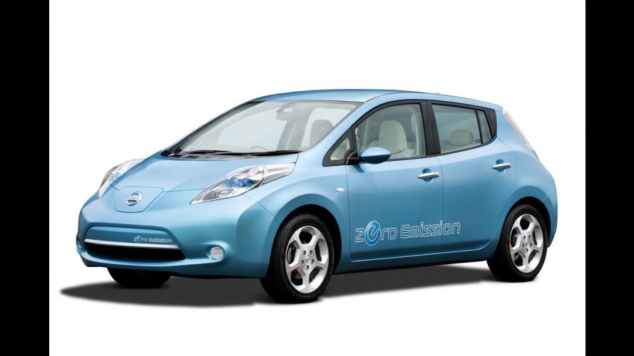 Nissan Leaf è sold out negli USA