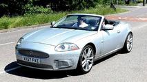 Jaguar XK Facelift Spy Photos