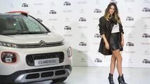 Laura M. Flores, embajadora Citroën C3 2018