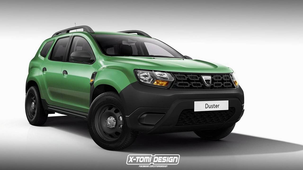 2018 Dacia Duster Rendered As Pickup, GT, And Three-Door Version