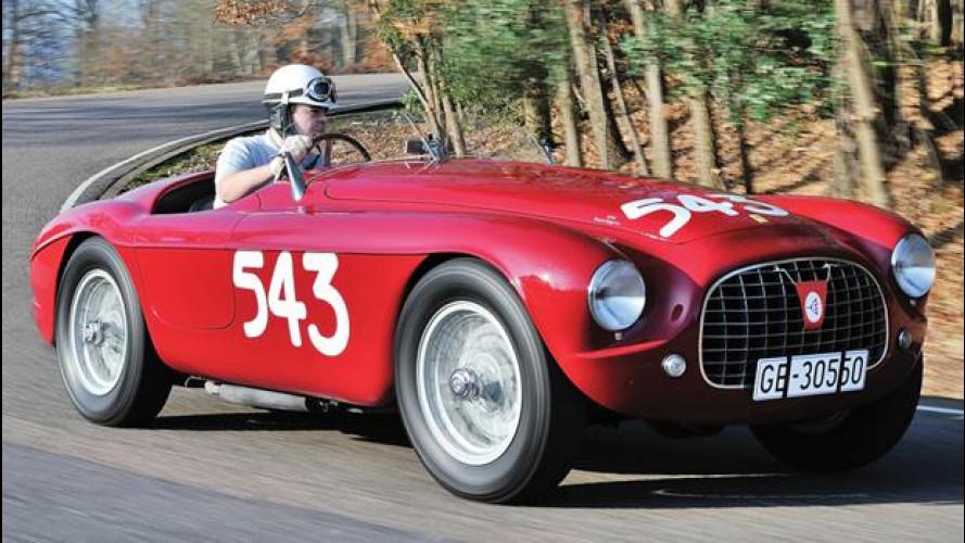 Ferrari 212 Export Barchetta 1952 all'asta per 5 milioni di euro