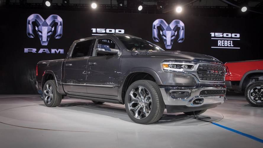 2018 Ram 1500 pick-up'ı tanıtıldı