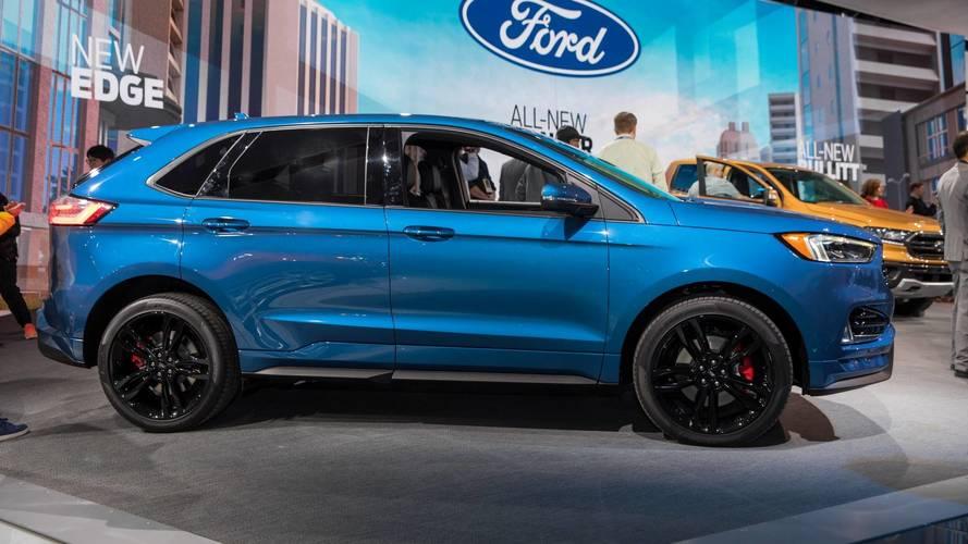 Ford, Edge SUV'unu 2018 için makyajladı
