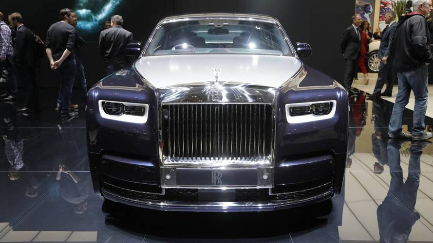 Rolls-Royce at the 2018 Geneva motor show