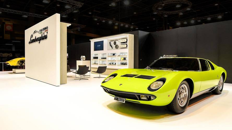 Polo Storico Restored Lamborghini Miura And Countach