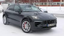 Makyajlı 2018 Porsche Macan casus fotoğraf