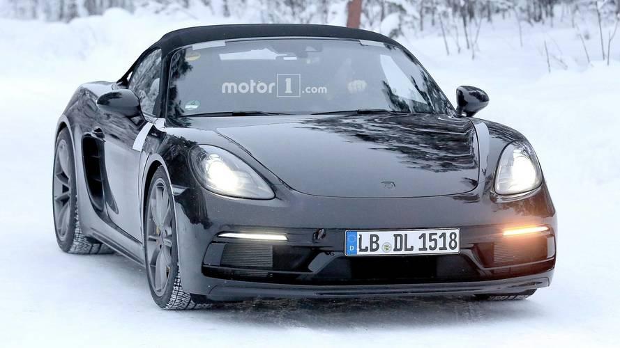 [GÜNCEL] Porsche 718 Boxster Spyder üretime hazır görünüyor