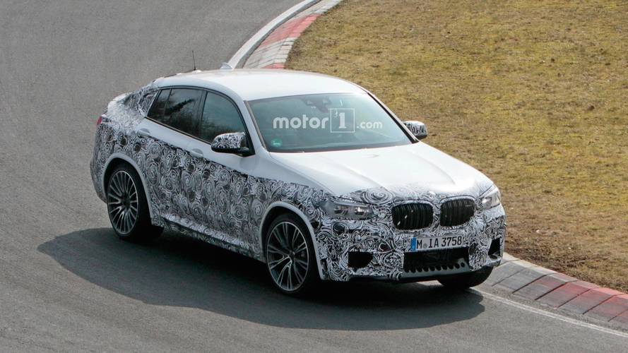 BMW X4 M Caught Testing On The Nürburgring