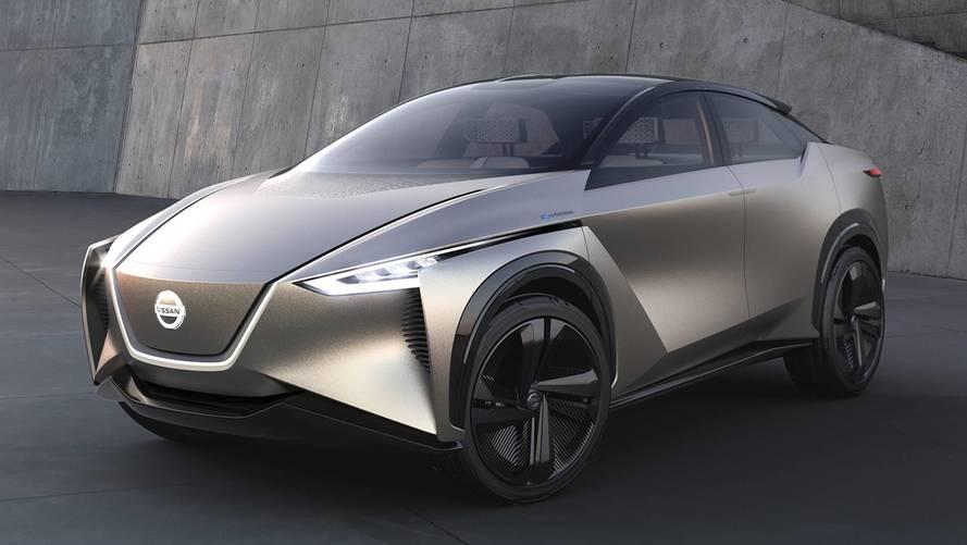 Salone di Ginevra 2018, la Nissan IMx Kuro si tinge di nero
