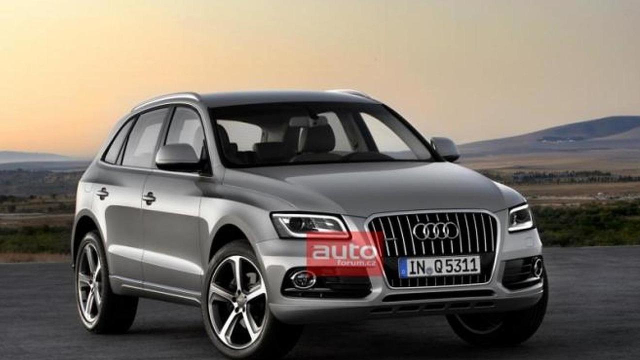 2013 Audi Q5 facelift leaked image