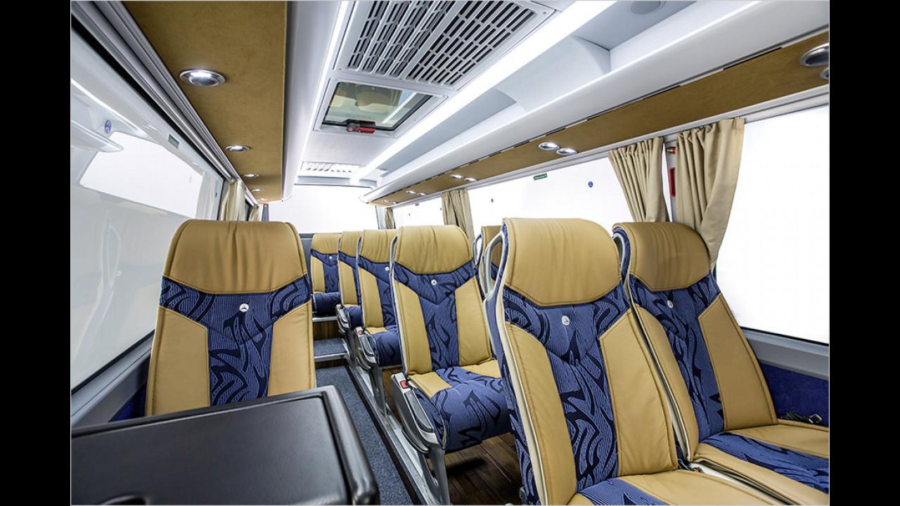 Luxusbus von der Mercedes-Benz Minibus GmbH