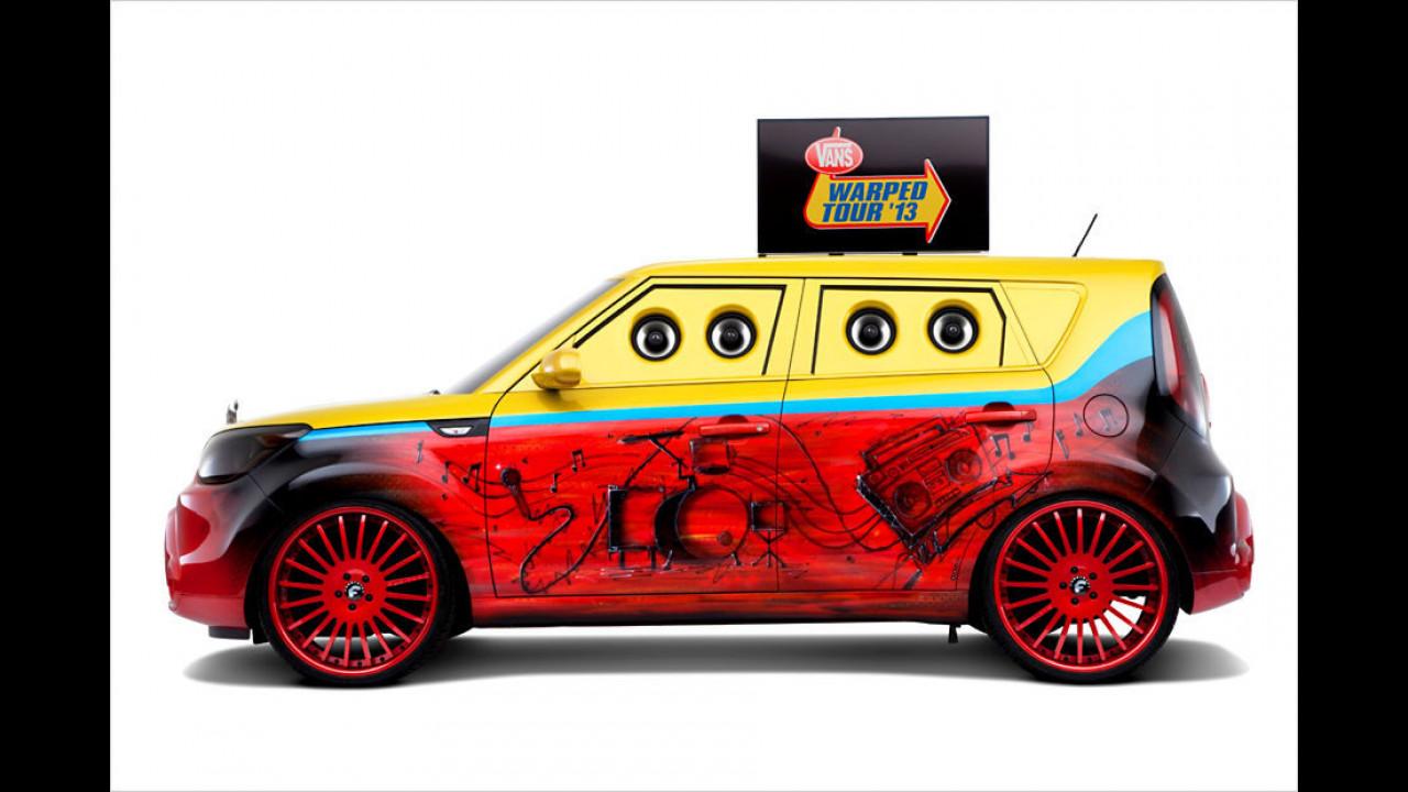 Kia Soul Vans-Warped-Tour SEMA 2013