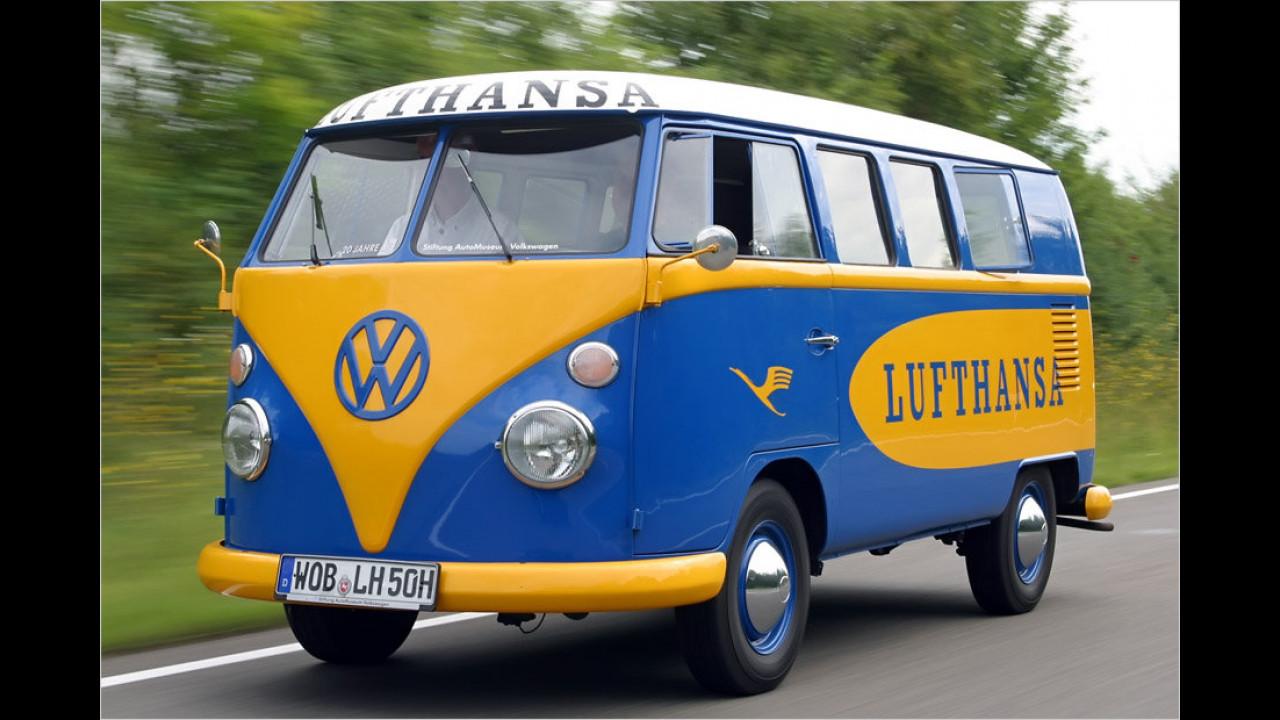 Platz 8: VW Bus und Transporter