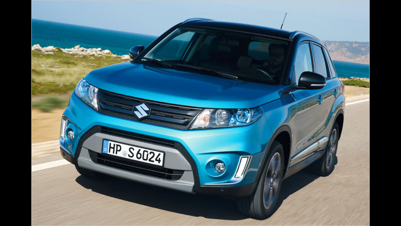 Platz 8: Suzuki Vitara 1.6 Club, 120 PS, 17.990 Euro