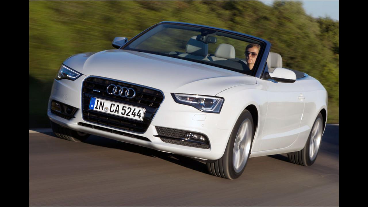 Platz 10: Audi A5 Cabriolet
