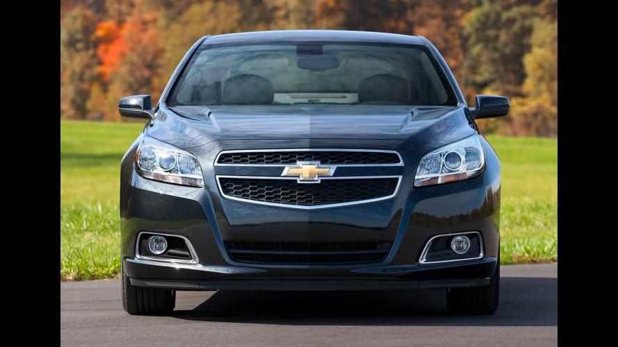 Chevrolet antecipará reestilização do sedã Malibu nos Estados Unidos