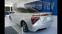 Este é o novo Toyota FCV movido a hidrogênio na versão norte-americana