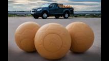Chevrolet doará bolas