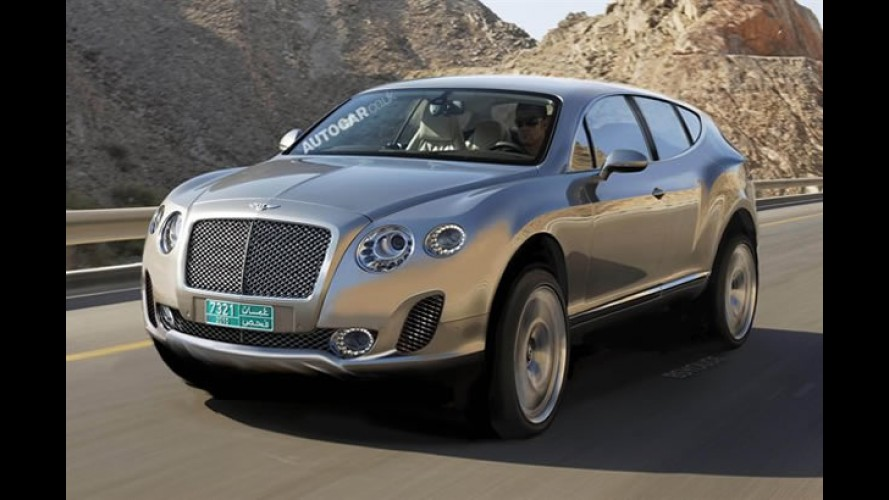 Bentley planeja comercializar 25 mil unidades do seu novo SUV