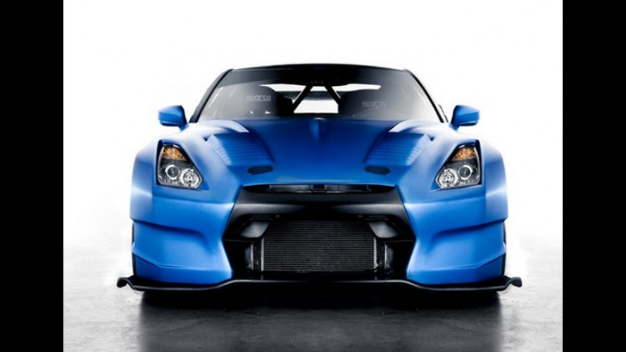 Nissan GT-R de 693 cv que vai aparecer no filme Velozes e Furiosos 6 é revelado