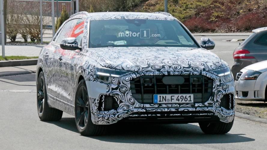 Audi RS Q8 2018: fotos espía