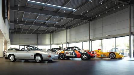 Estas son las tres 'obras de arte' del Centro Porsche Madrid Norte