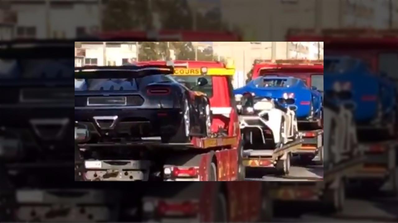 Supercars seized in Switzerland