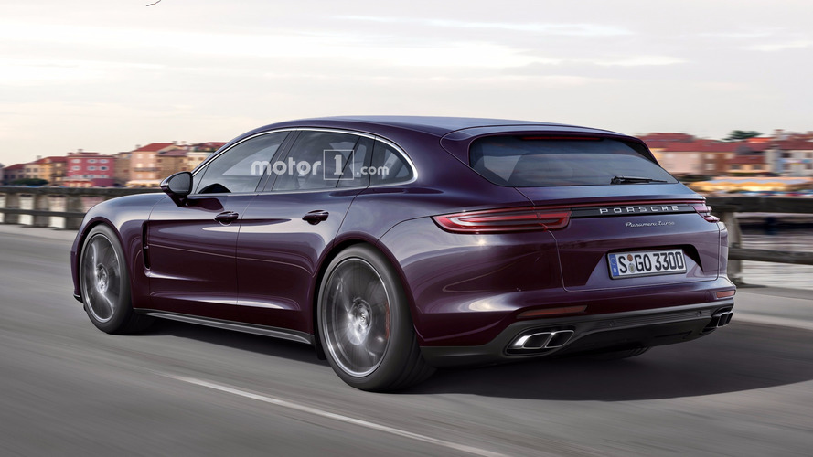 2018 Porsche Panamera Sport Turismo render is a sign of things to come