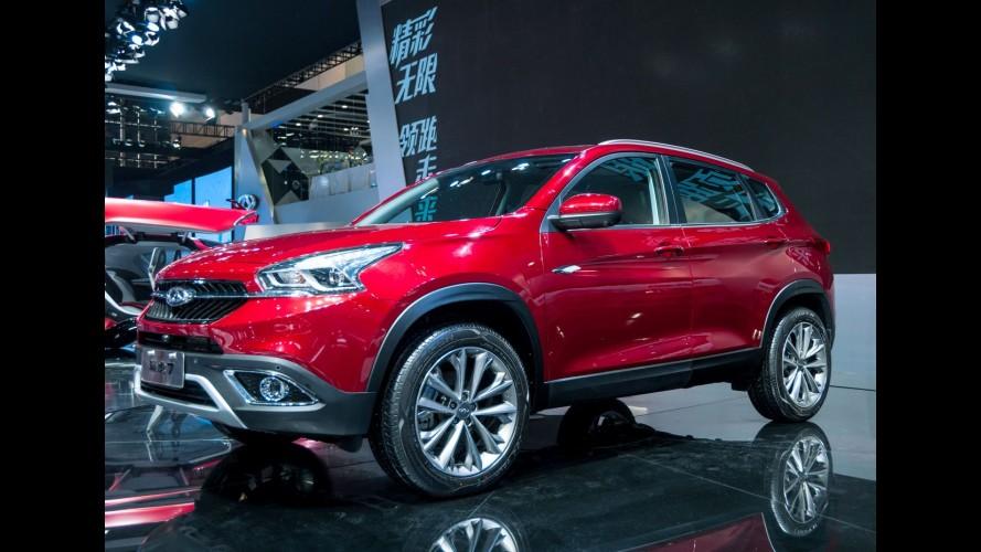 Salão de Pequim: novo SUV Chery Tiggo 7 é um dos chineses mais belos