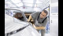 Porsche, linee di montaggio e dipendenti
