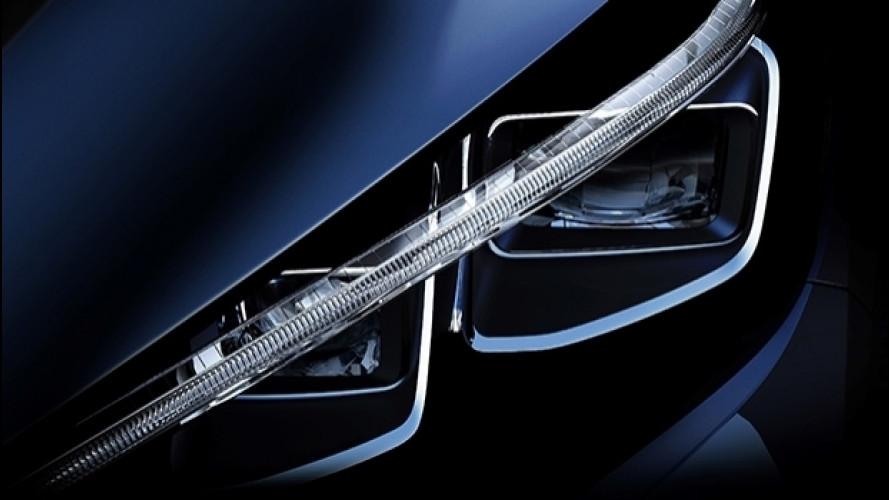 Nuova Nissan Leaf, ecco il suo sguardo