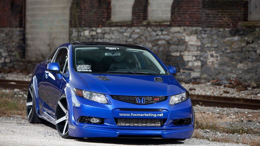 Honda Civic Si concepts introduced at SEMA