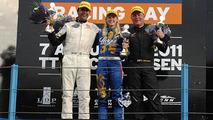 Beitske Visser, victory in the Dutch Supercar Challenge, 550, 12.08.2011