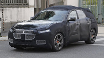 Maserati Levante spy photo