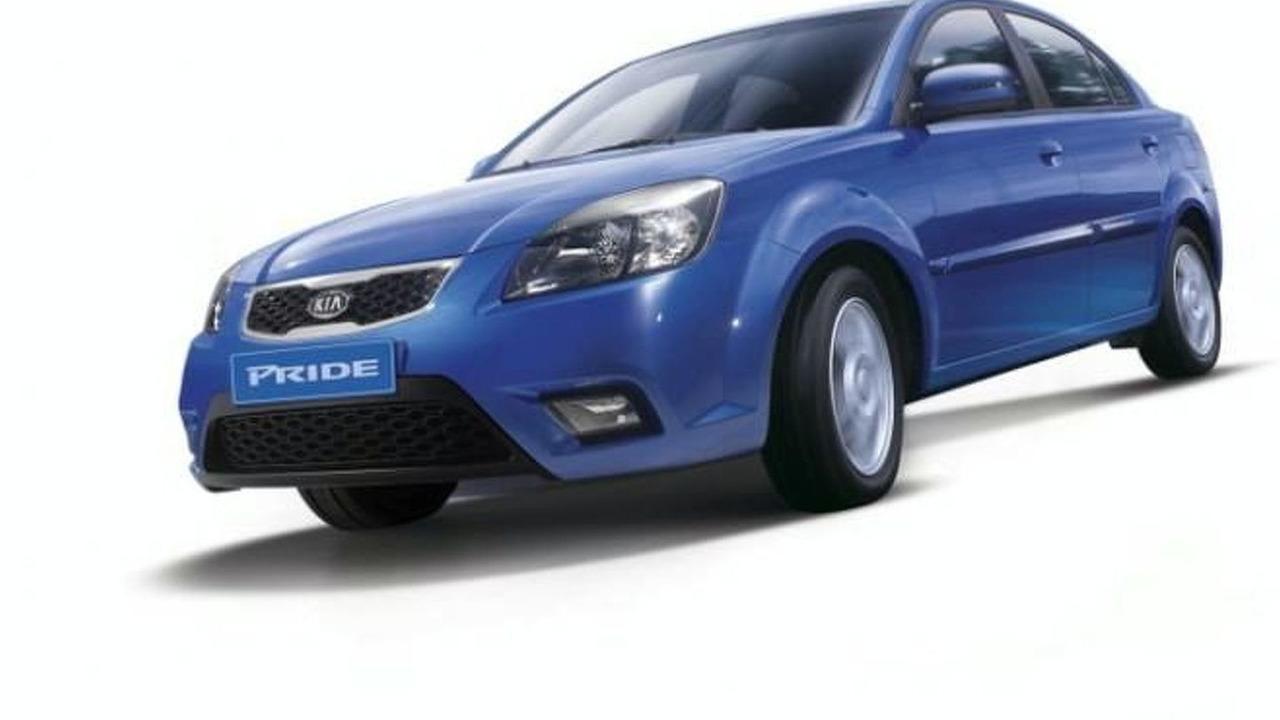 2010 Kia Rio facelift leaked image - 600