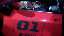 Vin Diesel in Eibach Dodge Challenger at VIP pre-premier of Fast and Furious film