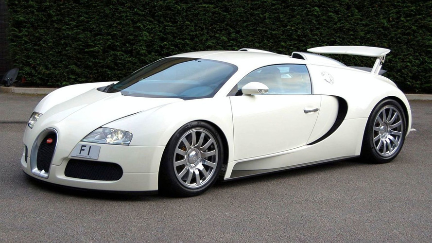 F1 Tagged Bugatti Veyron Set for MPH Show Appearance
