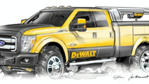 2011 Ford Super Duty DeWALT Contractor Concept