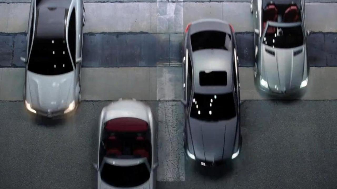 Mercedes Super Bowl commercial screen captures - 07.2.2011