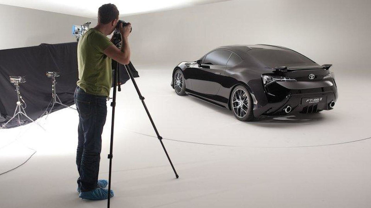 Toyota FT-86 II concept photo shoot 28.03.2011