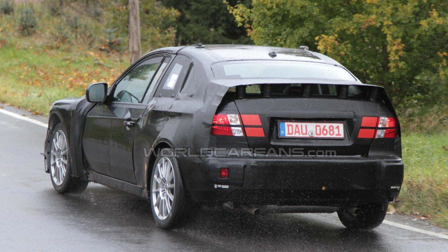 Toyota/Subaru FT-86 Coupe mule spied in Germany