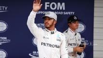 Lewis Hamilton, Mercedes AMG F1 in qualifying parc ferme