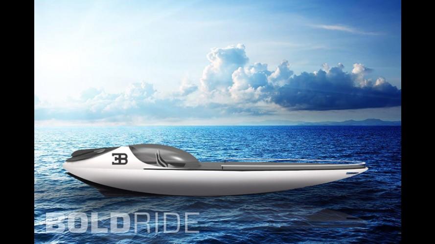 Bugatti Atlantean Racing Yacht by Fraser Leid