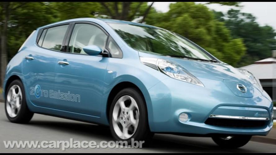 Nissan Leaf EV - Marca japonesa revela o seu primeiro carro médio totalmente elétrico