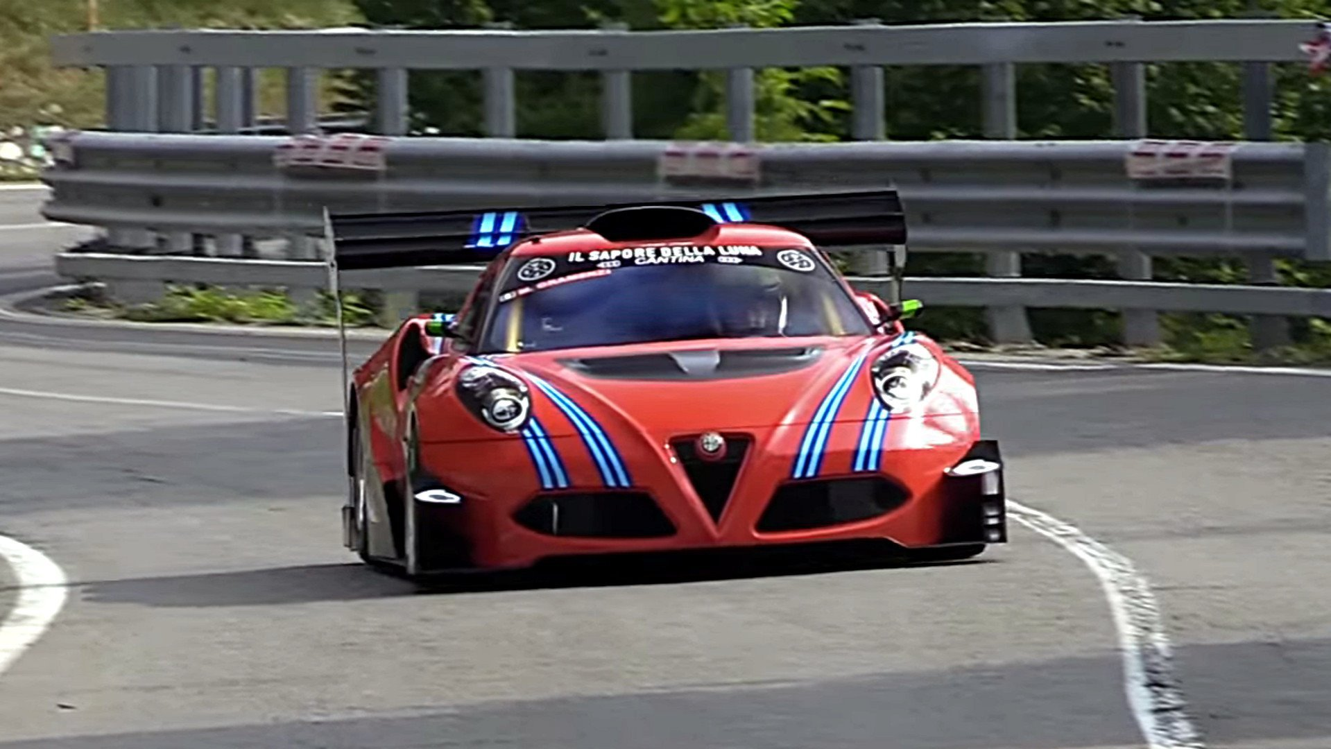 check out this frankenstein alfa romeo 4c race car. Black Bedroom Furniture Sets. Home Design Ideas
