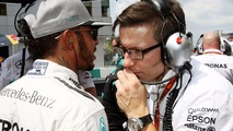 Lewis Hamilton, Mercedes AMG F1 on the grid